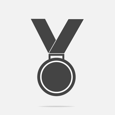 Vector icon medal. Medal of Honor, congratulations. Stock Photo