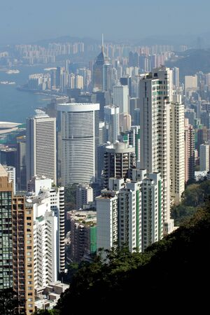 citylife: View from the Peak, Hong Kong