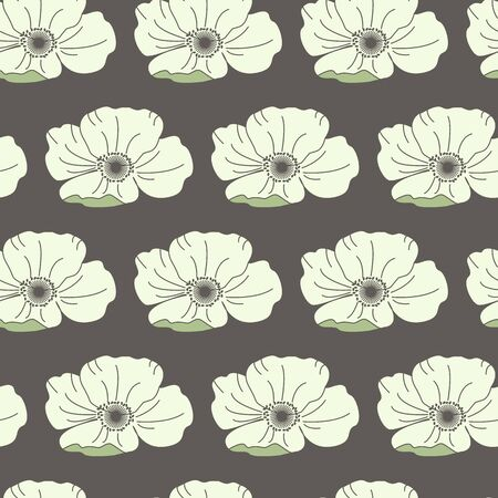 Floral seamless pattern. Good for wallpaper, pattern fills, web page background,surface textures