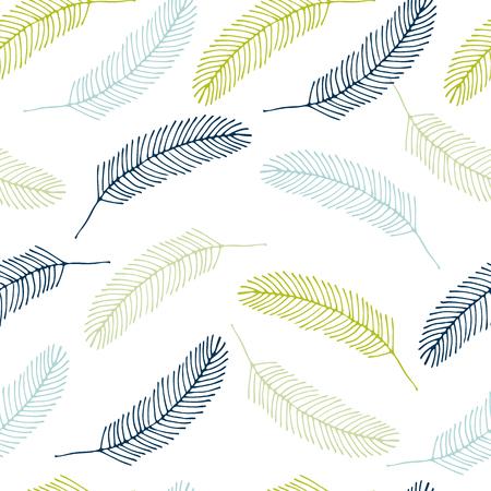 Einzigartiges handgezeichnetes nahtloses mit Blumenmuster. Gut für Tapete, Musterfüllen, Webseitenhintergrund, Oberflächenbeschaffenheiten