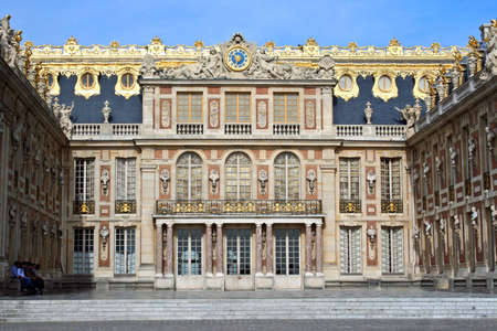king palace: Museum Versailles in France