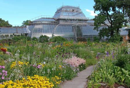 Botanical gardens in Petersburg