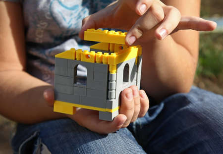 Building in child hands