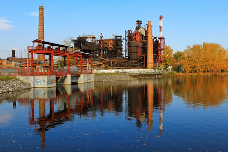 steel works: Old steel works in the Urals Editorial