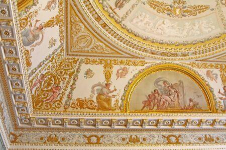 Ceiling in the Russian Museum in Saint Petersburg