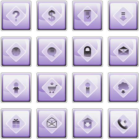 Web comunication icons