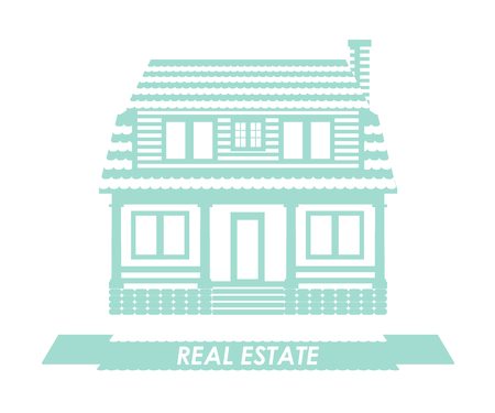 Real estate concept in flat style vector iluustration
