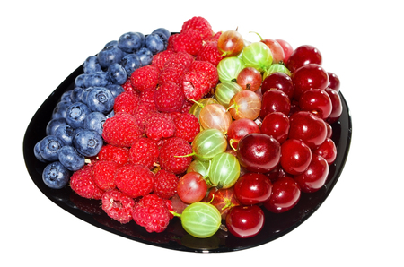 appetizing: a fresh and appetizing berries
