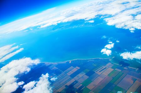 flight mode: view above ground