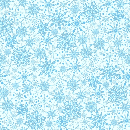 Seamless snowflakes background for winter and christmas theme Stock Vector - 16356313