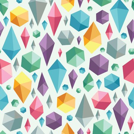 Hanging geometric shapes colorful seamless pattern Stock Vector - 16356506