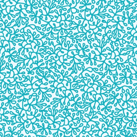 foliages: Abstract Underwater Plants Seamless Pattern Background