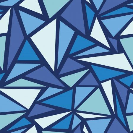 glisten: Аннотация chrystals льда бесшовные фоновый узор Иллюстрация