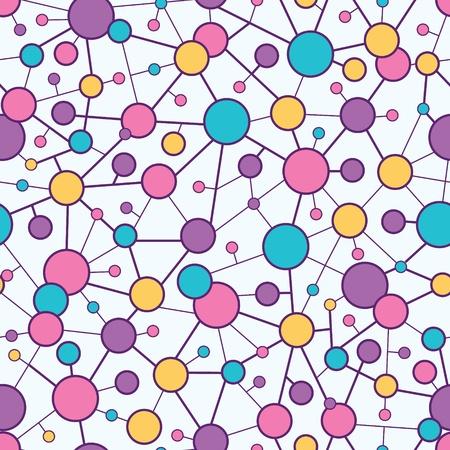 molecular structure: Molecular Structure Seamless Pattern background