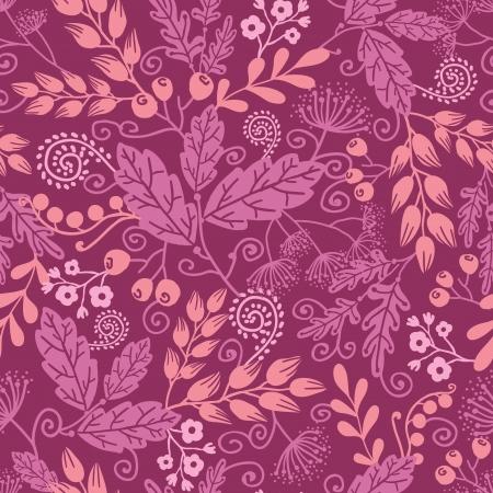 가을 정원 원활한 패턴 배경