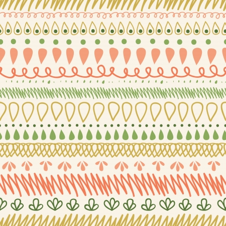 Abstract Stripes Horizontal Seamless Pattern Background Stock Vector - 16564762