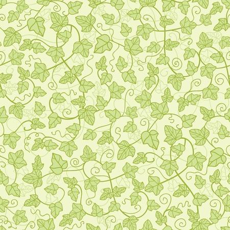 Ivy planten naadloze patroon achtergrond Stockfoto - 16675751