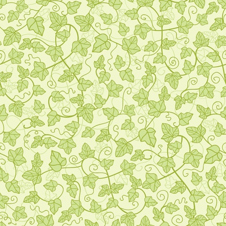 textured wall: Ivy plants seamless pattern background