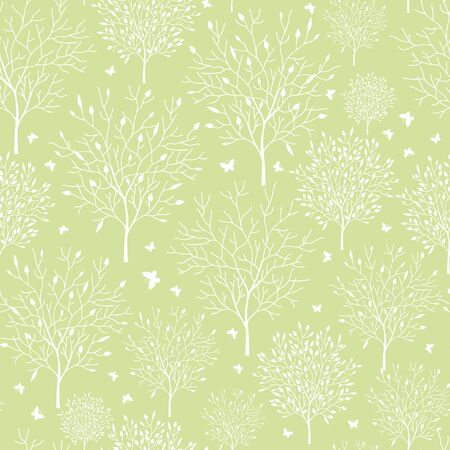 Spring garden seamless pattern background Stock Photo - 16710243