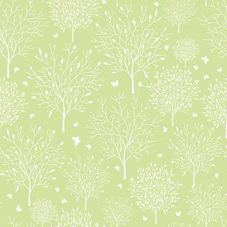 Spring garden seamless pattern background 版權商用圖片