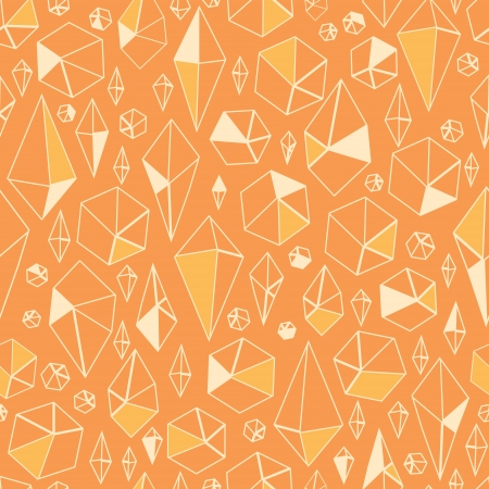 Abstract geometric chrystals seamless pattern background Stock Vector - 16710225
