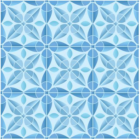 Kaleidoscope tile seamless pattern background Stock Vector - 16820356
