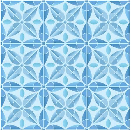 Kaleidoscope tile seamless pattern background Stock Vector - 16820356