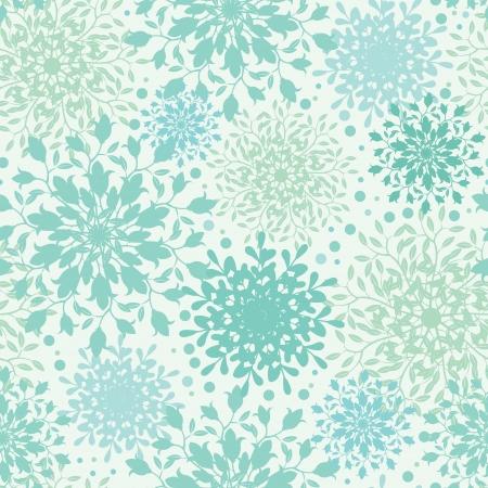 추상 식물 원활한 패턴 배경을 장식 무늬