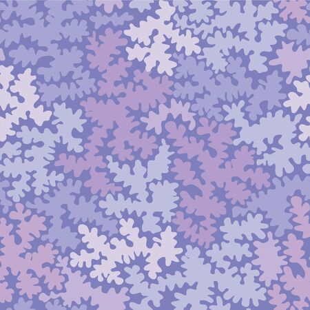 Abstract purple shapes seamless pattern background Illustration
