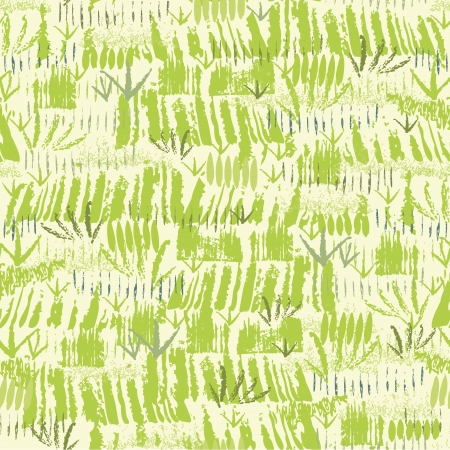 Painting of green grass seamless pattern background Stock Vector - 17428750