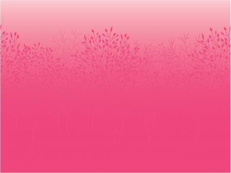 Pink dawn horizontal seamless pattern background Illustration