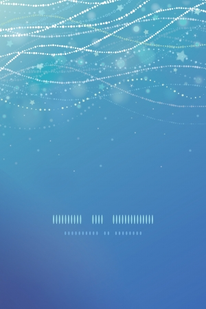 Magical underwater bubbles vertical template background