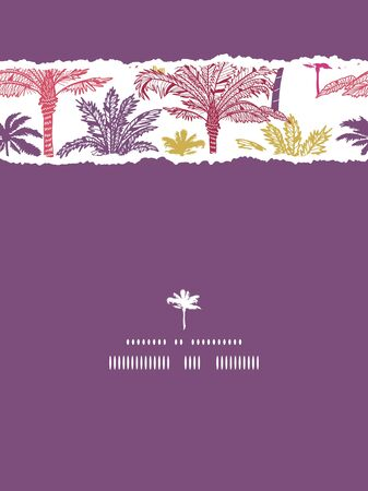Palm Trees Background Vertical Palm Trees Seamless Vertical