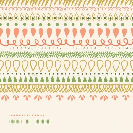 horizontal: Abstract Stripes Horizontal Seamless Pattern Background