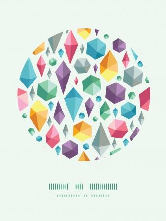 forme: suspendu géométrique cercle décoration fond forme formes Illustration