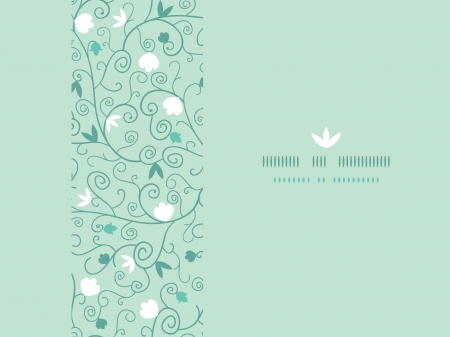 Blossoming  Branches Horizontal Seamless Pattern Background Vector