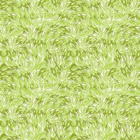 Green grass texture seamless pattern background Illustration