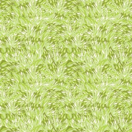 Green grass texture seamless pattern background Illustration