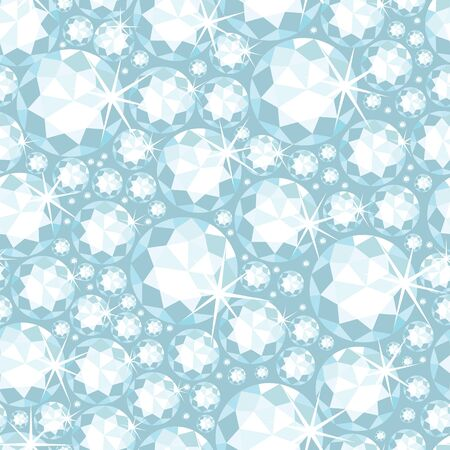 Shiny diamonds seamless pattern background photo