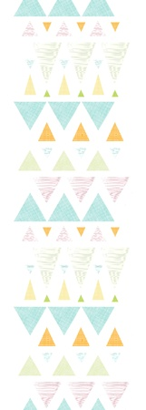 Abstract ikat triangles stripes vertical seamless pattern background photo