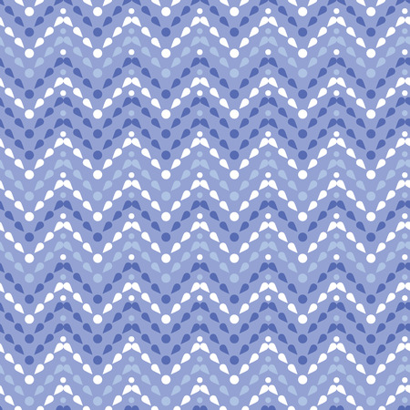 vector purple drops chevron seamless pattern background with geometric elements photo