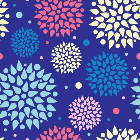 vector colorful bursts seamless pattern background photo