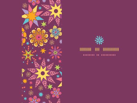 vector colorful stars horizontal seamless pattern background template photo