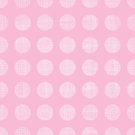 textile image: Vector abstract pink textile dots stripes seamless pattern background Illustration