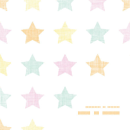 vector stars textile textured pastel frame corner pattern background