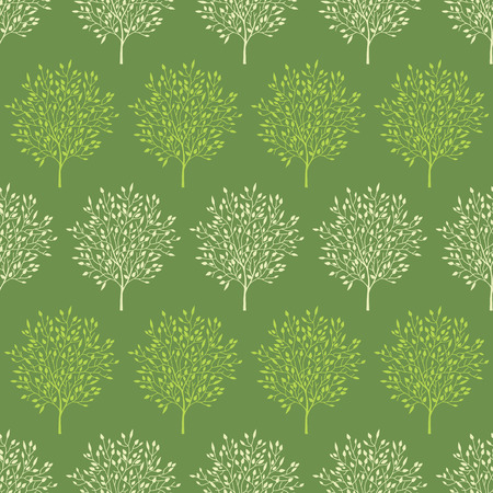 reapeating: green trees stripes seamless pattern background