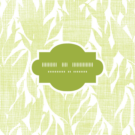 bush mesh: Green leaves textile texture frame seamless pattern background