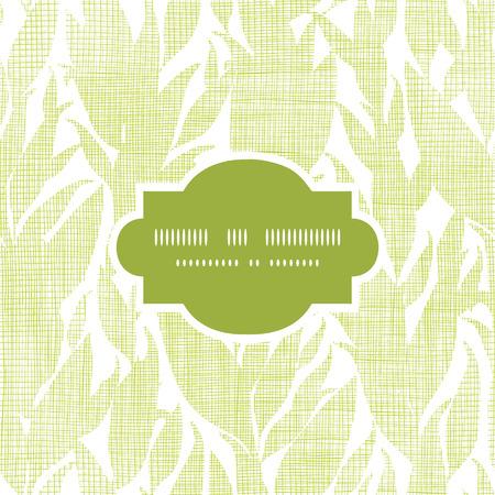 bush mesh: Green leaves textile texture frame seamless pattern background
