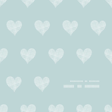White lace hearts textile texture frame corner pattern background Vector