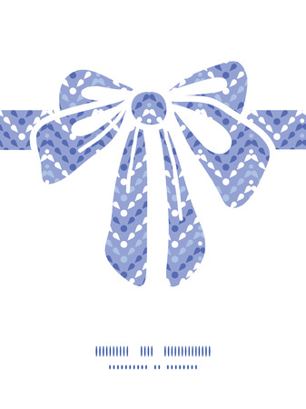 Vector purple drops chevron gift bow silhouette pattern frame Vector